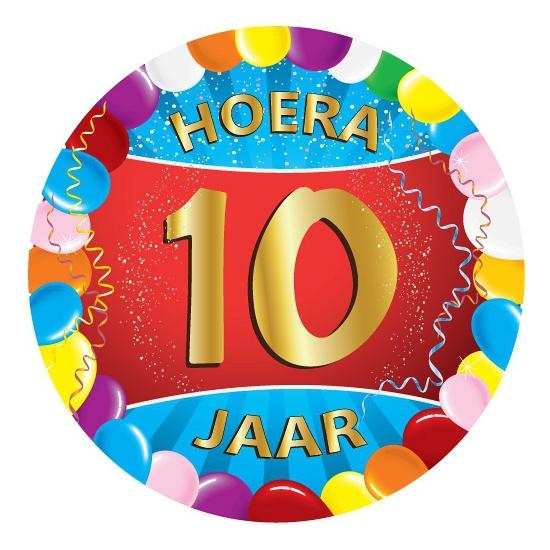 10 jaar verjaardag party viltjes