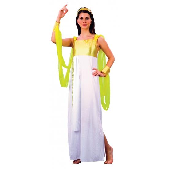 1001 nacht jurk wit met goud