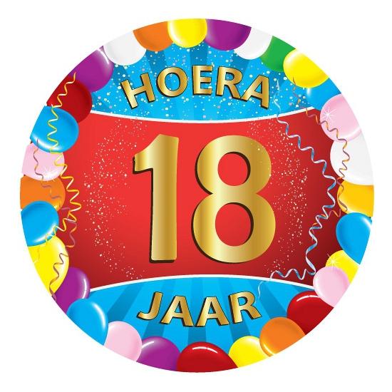 18 jaar verjaardag party viltjes