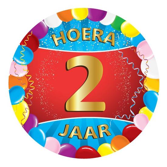 2 jaar verjaardag party viltjes