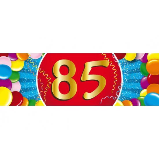 85 jaar versiering sticker