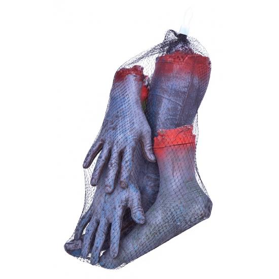 Afgehakte zombie horror ledematen