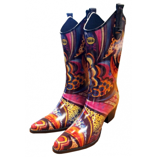 All weather cowboy laarzen Floral