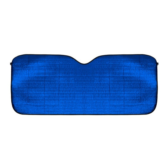 Aluminium auto zonnescherm blauw