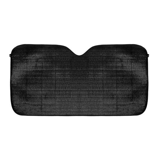 Aluminium auto zonnescherm zwart