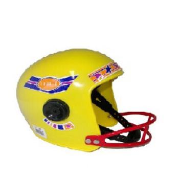 American football helm geel voor kinderen