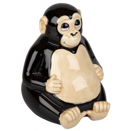 Apen spaarpot 13 cm