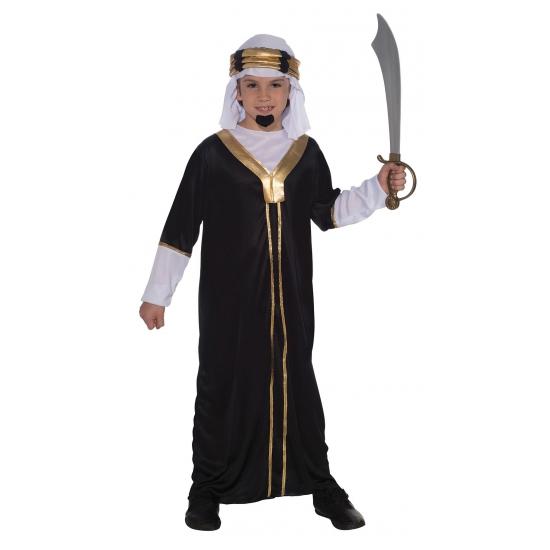 Arabieren kostuum voor kids zwart