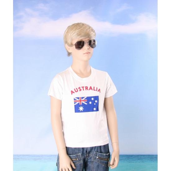 Australische vlaggen t shirts voor kinderen