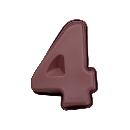 Bakvorm van siliconen materiaal cijfer 4