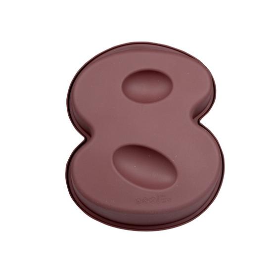 Bakvorm van siliconen materiaal cijfer 8