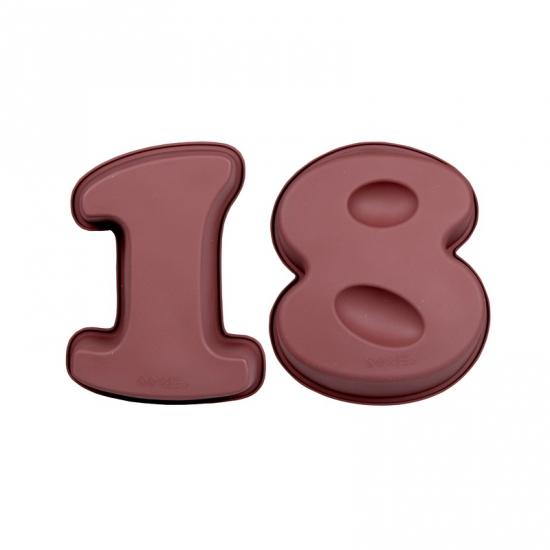 Bakvormen van siliconen materiaal cijfer 18