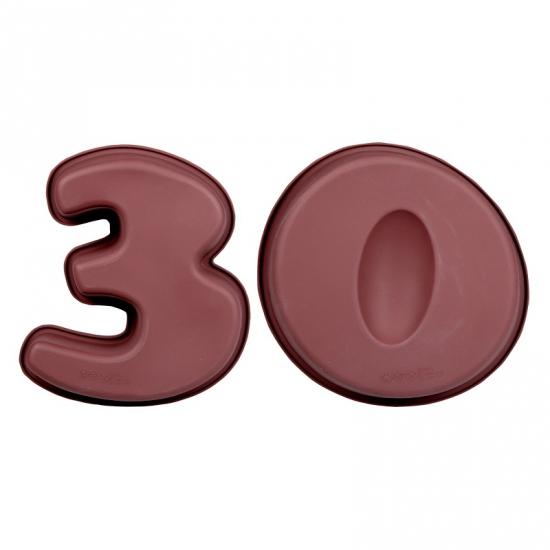 Bakvormen van siliconen materiaal cijfer 30
