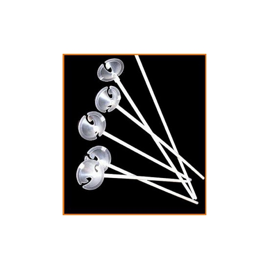Ballonnenstokjes 100 stuks