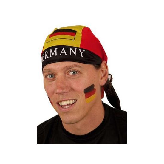 Bandana met Duitse vlag