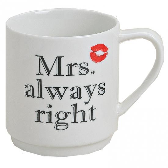 Beker Mrs Always Right