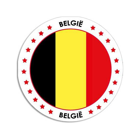 Belgie stickers