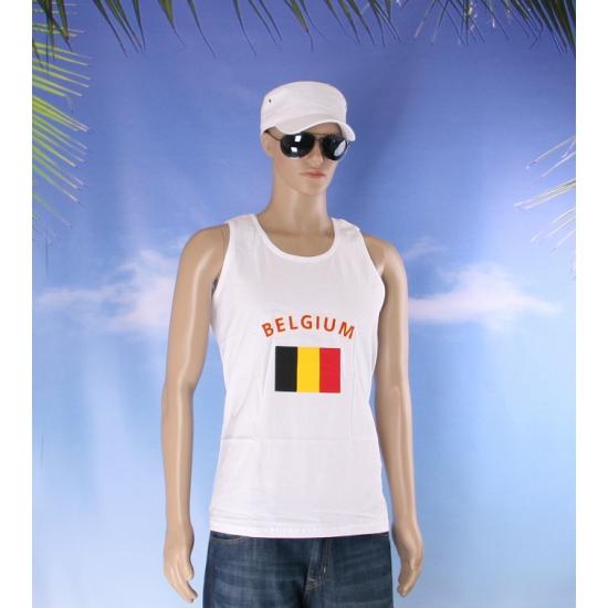 Belgie vlaggen tanktop  t shirt