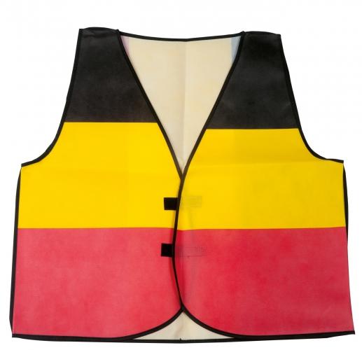 Belgische supporters vestjes
