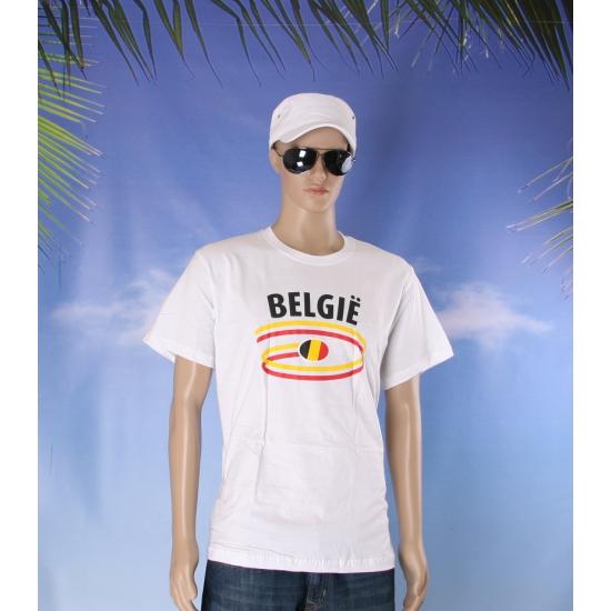 Belgische vlaggen t shirts voor heren