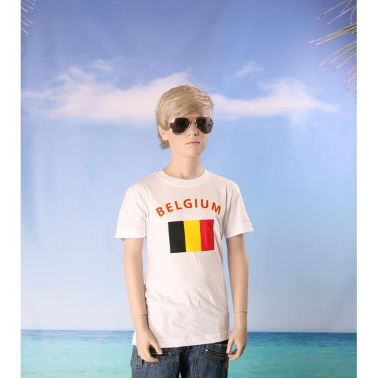 Belgische vlaggen t shirts voor kinderen