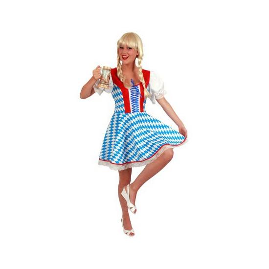Bierfeest jurk met Bavaria kleuren