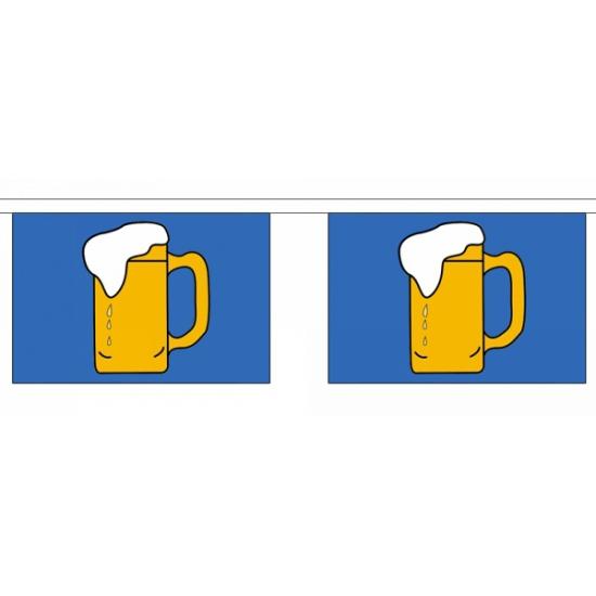 Bierfeest vlaggenlijn van polyester