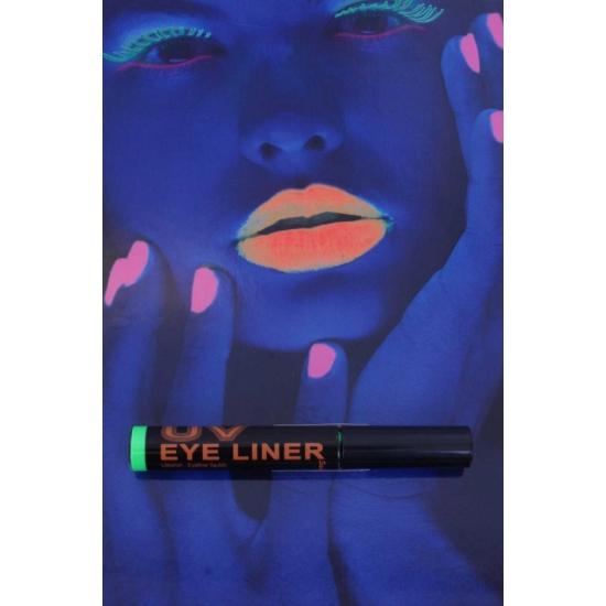 Blacklight eyeliner groen