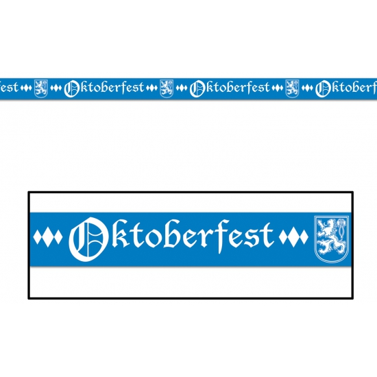 Blauw markeerlint Oktoberfest
