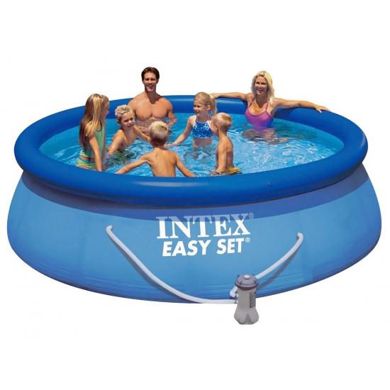 Blauw zwembad 366 x 76 cm