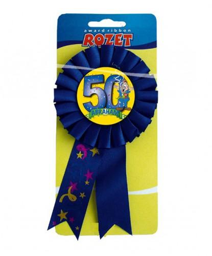 Blauwe Abraham rozet 50 jaar