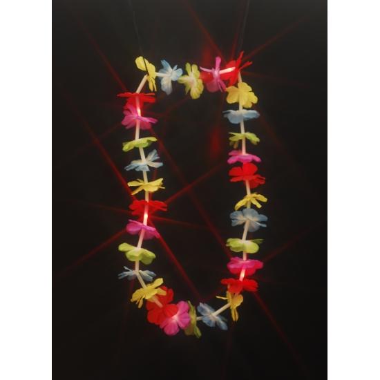 Bloemenkrans ketting met LED