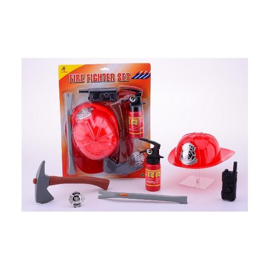 Brandweer accessoires pakket