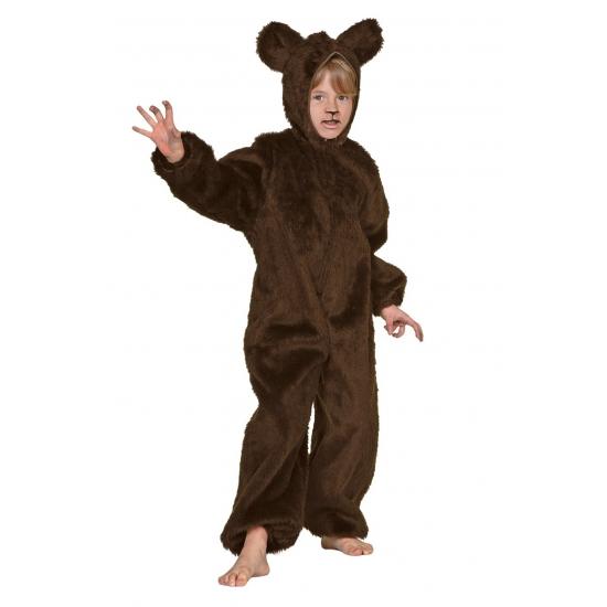 Bruine beren outfit voor kinderen