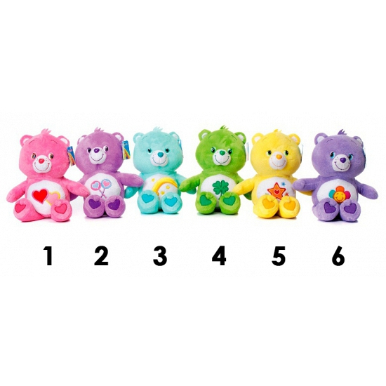 Care Bears lila knuffelbeer 60 cm