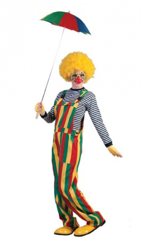 Carnaval clown tuinbroek