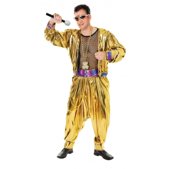 Carnavalskleding MC Hammer pak