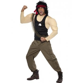 Carnavalskleding Rambo