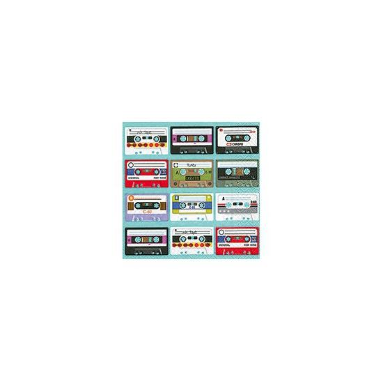 Cassette servetten 20 stuks