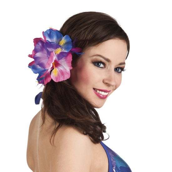 Clip met Hawaii hibiscus bloem