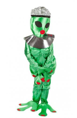 Compleet alien kostuum voor dames