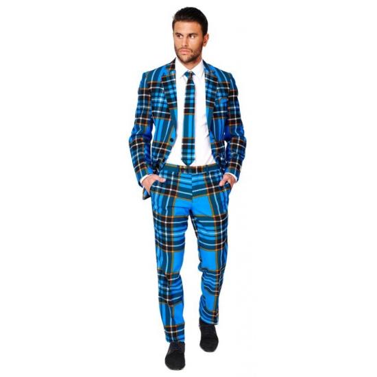 Compleet kostuum met Schotse ruit