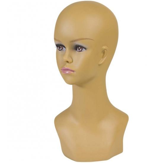 Dames hoofd display 40 cm halfbloed