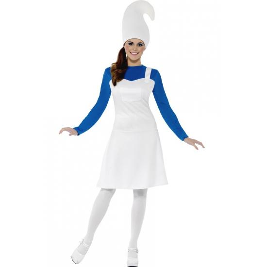 Dames kostuum blauw kaboutertje
