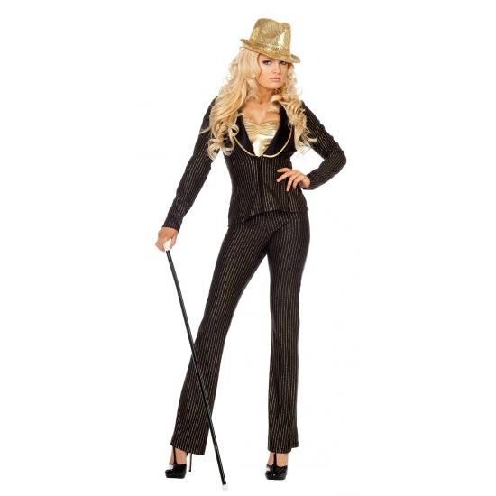 Dames kostuum Vegas girl 2 delig