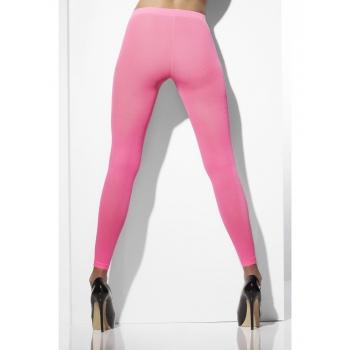 Dames legging neon roze