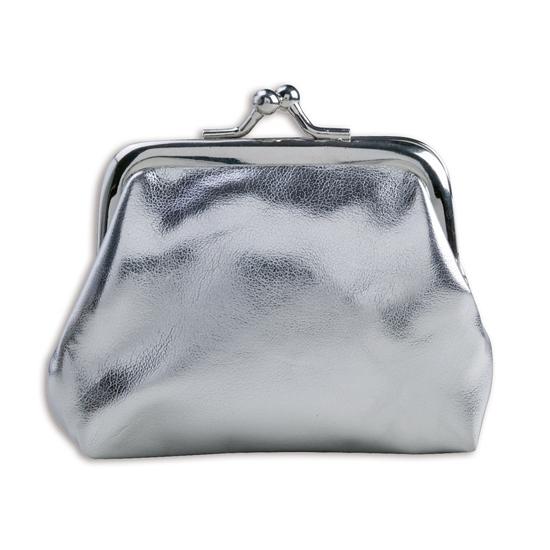 Dames portemonnee zilver