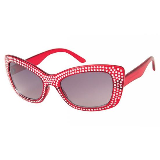 Dames zonnebril met Diamond frame