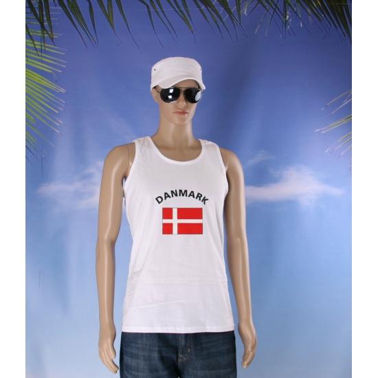 Denemarken vlaggen tanktop  t shirt