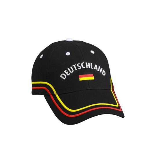 Deutschland baseball cap zwart
